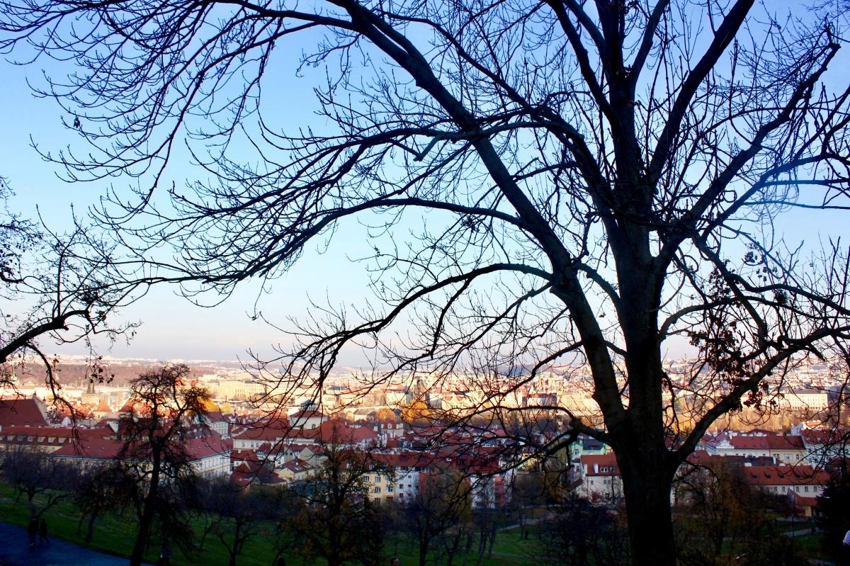 Wanderlust @24 Up the steps of Petrin Hill, Prague